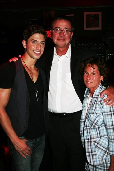 Nick Adams with his father Ken Adams and Step Mom Ann Adams