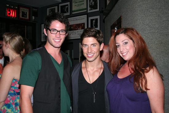 Matt Pierson, Nick Adams and Mitzi Michaels