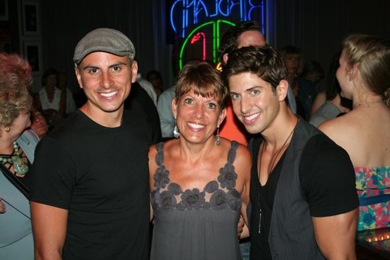 Anthony Adams, Janet Wojtalik and Nick Adams