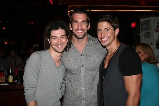Adam Wachter, Tommy Berklund and Nick Adams Photo