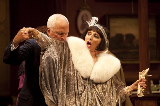 John Rubinstein and Andrea Martin at THE TORCH-BEARERS At Williamstown Theatre Festival