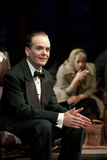 Jefferson Mays and Ann Dowd at QUARTERMAINE'S TERMS Continues At WTF Through 8/23