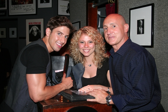 Nick Adams, Carolyn Amaradio and Gianni Valenti