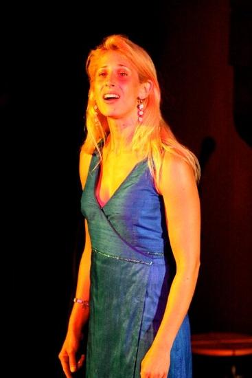 "Hila Plitmann (Grammy winner, star of Stephen Schwartz's ""Seance On A Wet Afternoon"") Green Finch & Linnet Bird"
