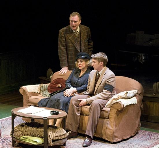 Benedict Campbell, Corrine Koslo, and Ken James Stewart