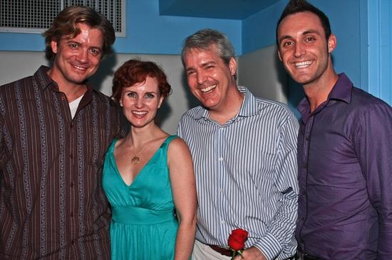 Chris Henry Coffey, Autumn Hurlbert, Rob Sheridan and Scott Hamilton