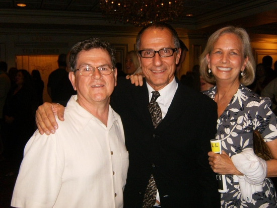 Tim Kazurinsky, Jim Corti, and Marsha Kazurinsky