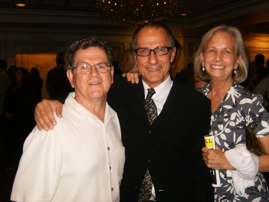 Tim Kazurinsky, Jim Corti and Marsha Kazurinsky