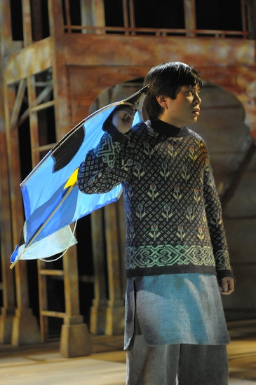 Lowell Abellon at THE KITE RUNNER At Arizona Theatre Company
