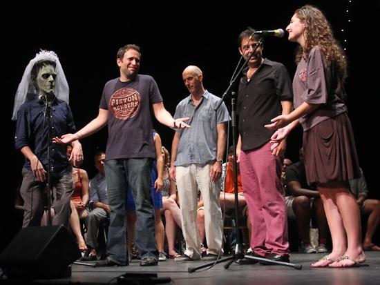 The Gay Bride of Frankenstein, David Rossmer, Steve Rosen, and Daryl Eisenberg