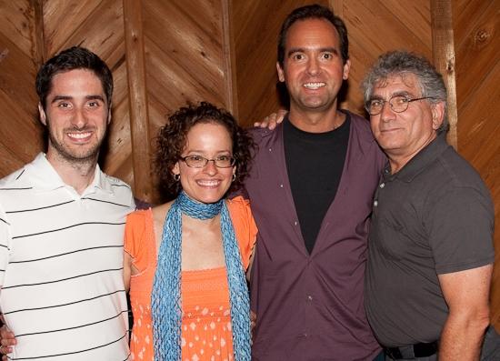 Bryan Perri, Lynne Shankel, David Kirshenbaum and Joel Moss Photo