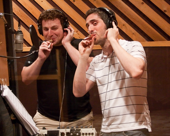 Randy Cohen and Bryan Perri lead the 'kazoo solos'