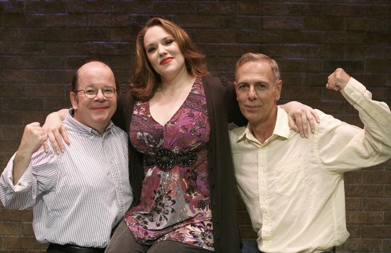Hugh Nees, Emily Skinner and J. Fred Shiffman Photo