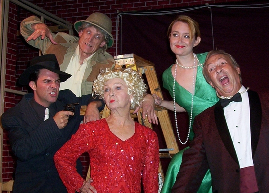 Sean Owen as Johnny Chicago, Roger Prenger as Uncle Julian, Noel Irick as Addie Starr, Jessica Godber as Gwendolyn Vandermorgan and Charlie LeSueur as Chas Courtney