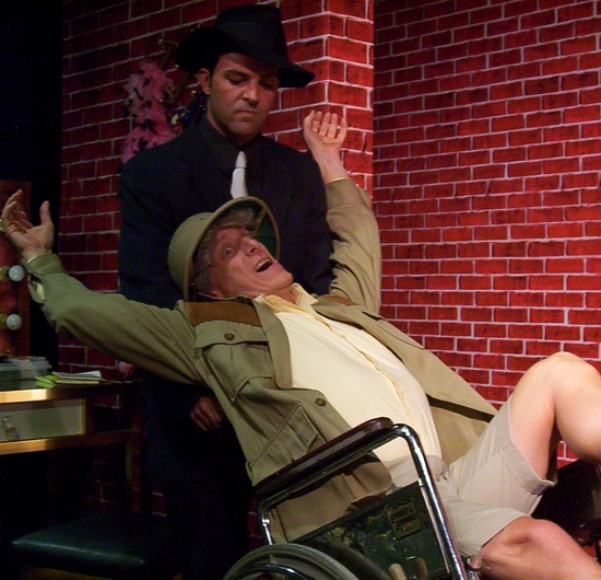 Sean Owen as Johnnt Chicago and Roger Prenger as Uncle Julian