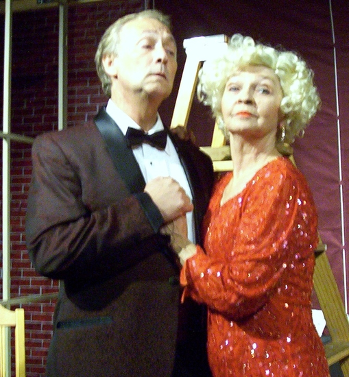 Charlie LeSueur as Chas Courtney and Noel Irick as Addie Starr
