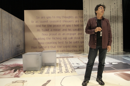 Artistic Director Tony Taccone at TINY KUSHNER At Berkeley Rep
