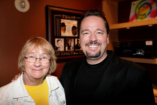 Kathryn Joosten and Terry Fator