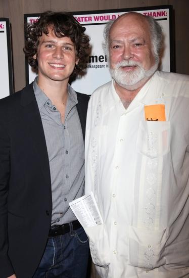 Jonathan Groff and Nicholas Rudall
