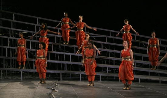 Photo Coverage: The Public Theater's Shakespeare in the Park Production Of THE BACCHAE - Curtain Call