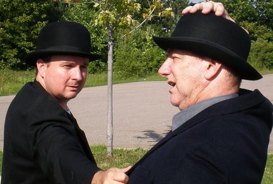 Larry Rusinsky and Steve Elliott