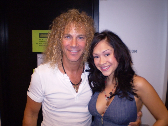 David Bryan and Diana DeGarmo