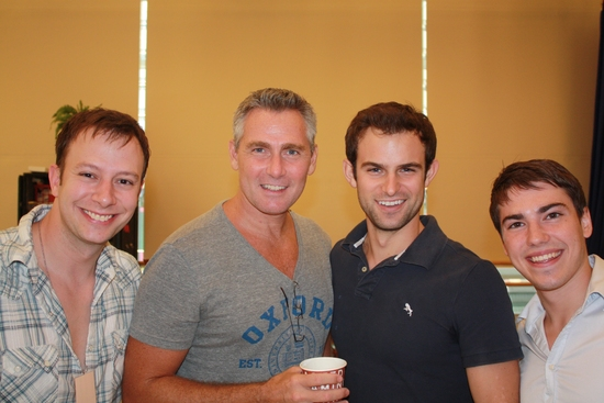 Photo Flash: The SOUTH PACIFIC Tour Rehearsals Begin At The New 42nd Street Studios