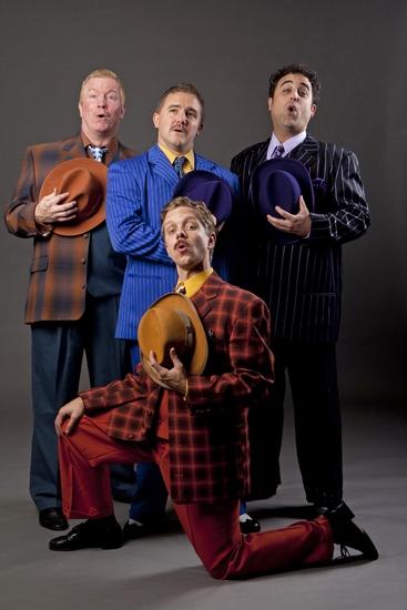 Steve Isom, David Foley Jr., Edward Juvier and Ben Nordstrom Photo