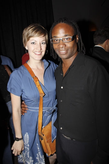 Music Director Charity Wicks and Director Billy Porter at Stephen Schwartz: Making Good