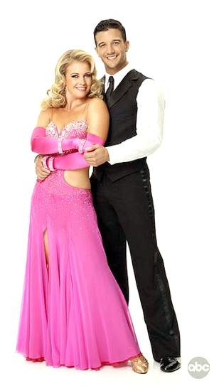 Melissa Joan Hart and Mark Ballas Photo