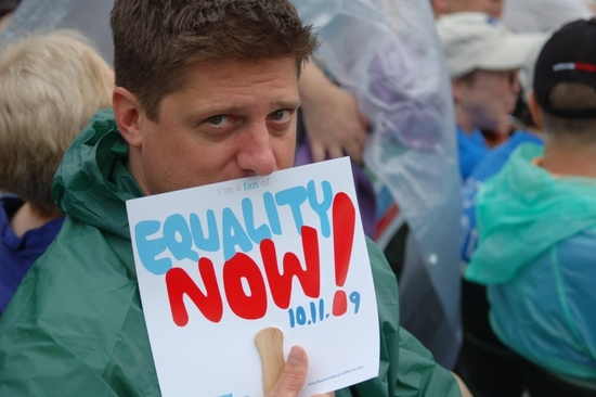 Photo Coverage: The New York Theater Community's Mobilization Rally for Equality In Central Park