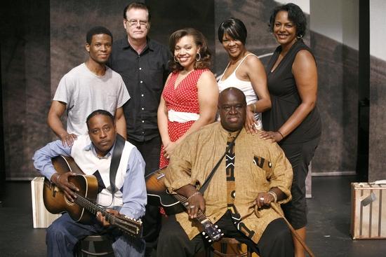 Cavin Yarbrough, Timothy Parham, Guitarist- Skip Krevens, Carmen Ruby, Alisa Peoples  Photo