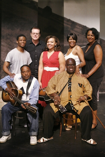 Cavin Yarbrough, Timothy Parham, Guitarist- Skip Krevens, Carmen Ruby, Alisa Peoples Yarbrough, Inga Ballard and Akin Babatunde