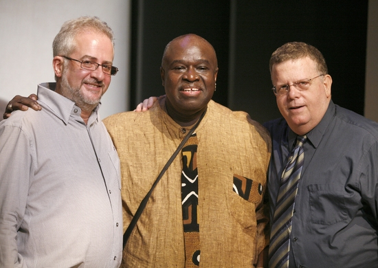 Alan Govenar, Akin Babatunde and James Morgan