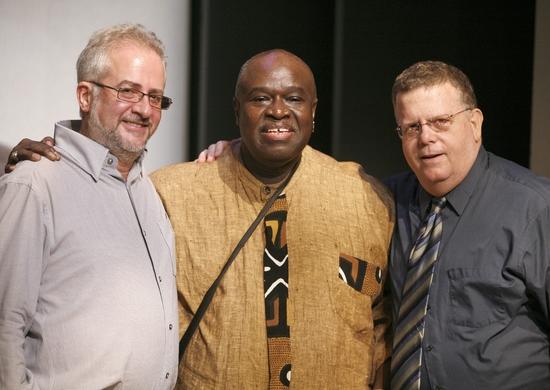 Alan Govenar, Akin Babatunde and James Morgan