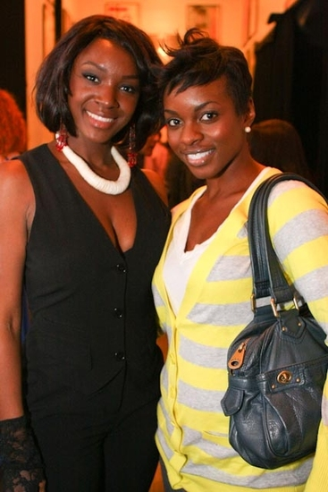 Saycon Sengbloh and Tallia Brinson (upcoming Dreamgirls at the Apollo Theater)
