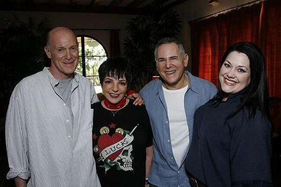 Neil Meron, Liza Minnelli, Craig Zadan and Brooke Elliott