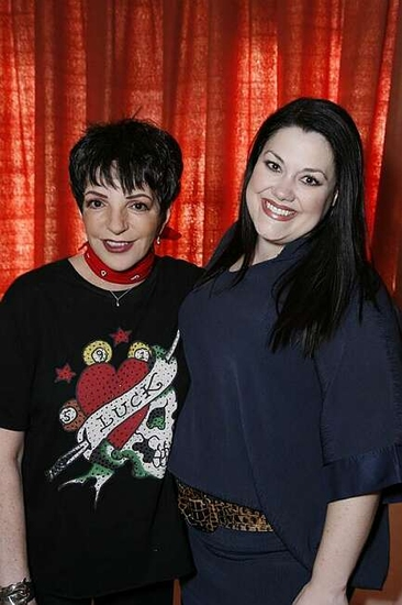 Liza Minnelli and Brooke Elliott