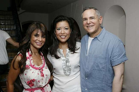 Paula Abdul, Andrea Wong and Craig Zadan
