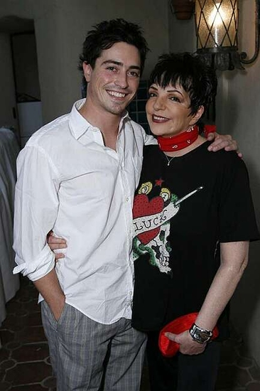 Ben Feldman and Liza Minnelli
