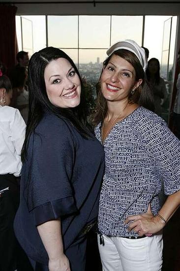 Brooke Elliott and Mia Vardalos