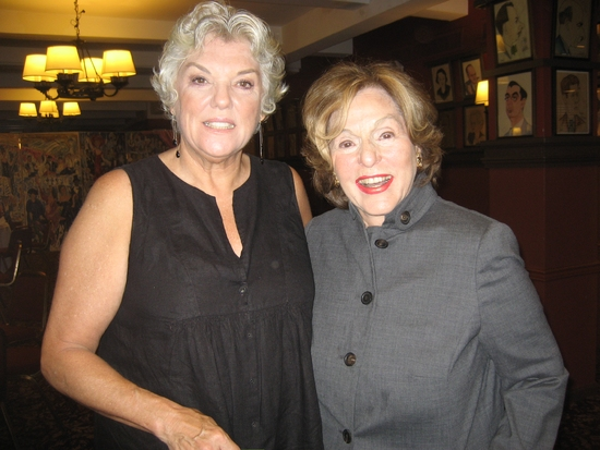 Tyne Daly and Fran Weissler