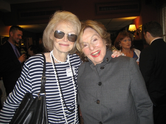 Margaret Styne and Fran Weissler