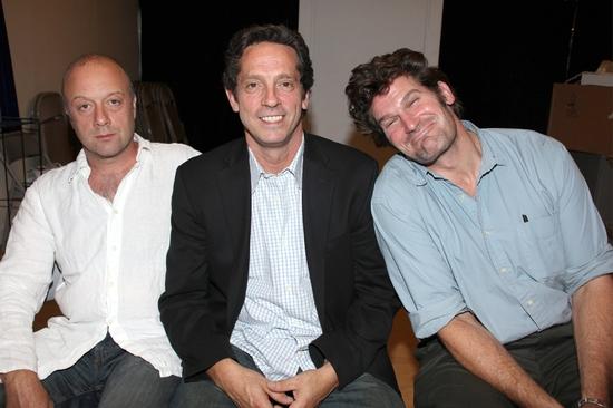 Yasen Peyankov, Robert Maffia and Michael Garvey