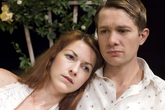 Ann (Cora Vander Broek, left) and Chris (Erik Hellman)