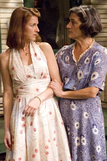 Kate (Janet Ulrich Brooks, right) warns Ann (Cora Vander