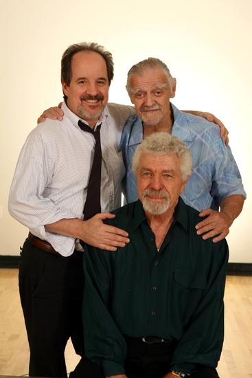 John Pankow, Jack Wallace and J.J. Johnston Photo
