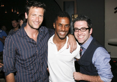John Hill, Daryl Stephens, Ben Rimalower at Upright Cabaret Photo