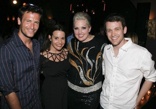 Bare reunion at Upright Cabaret - John Hill, Jenna Leigh Green, Natalie Joy Johnson a Photo