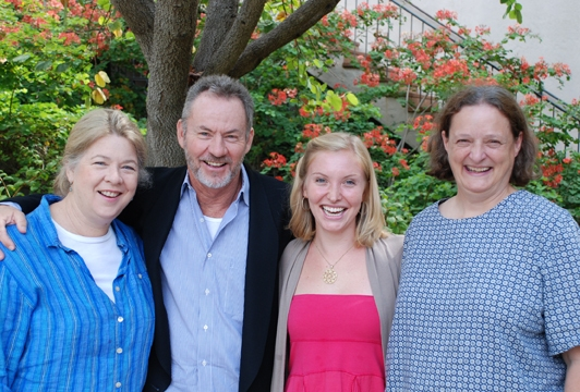 Robin Pearson Rose, James Sutorius, Kimberly Parker Green, and Nancy Robinette